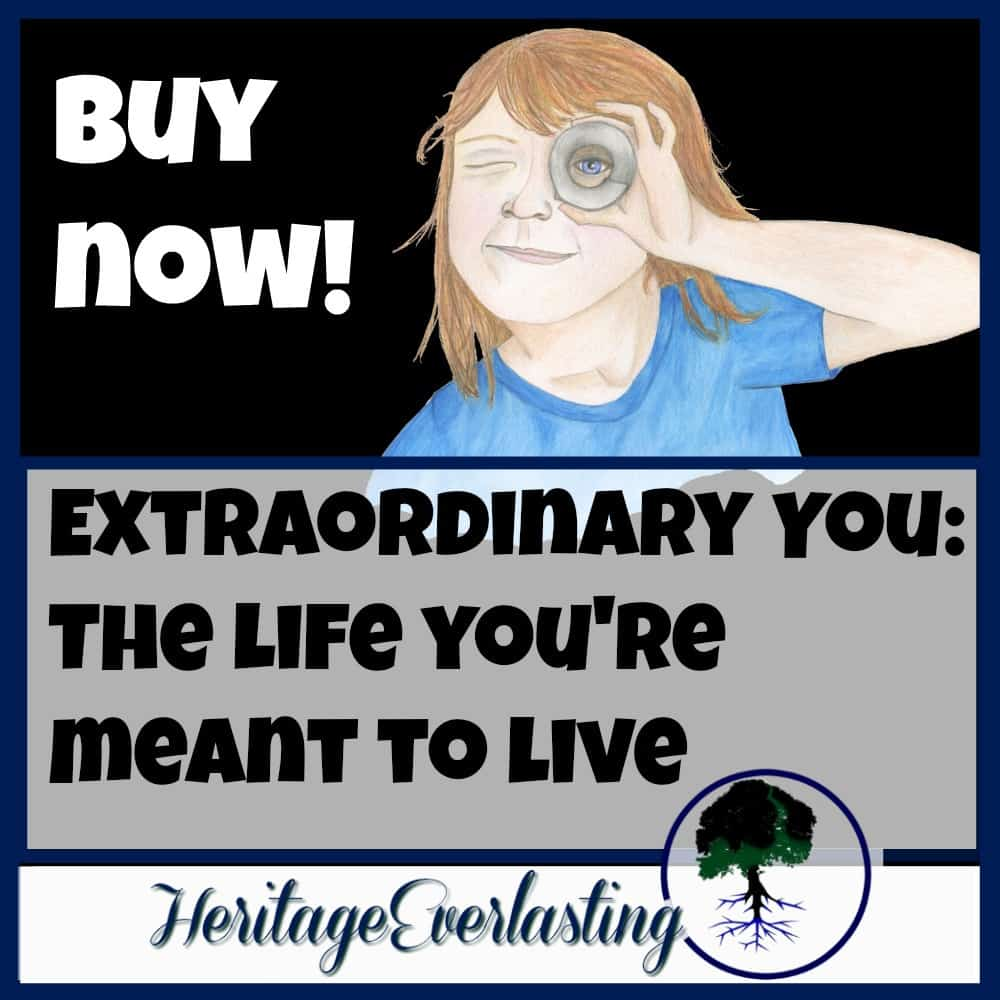 Extraordinary You The Life You're meant to live. Teaching kids to know the extraordinary grace and power that is available to them when they are connected to God through their faith.
