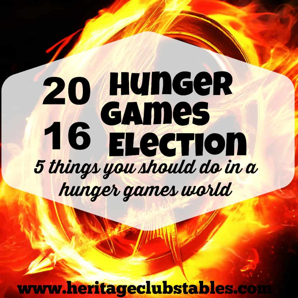 2016 Hunger Games Election