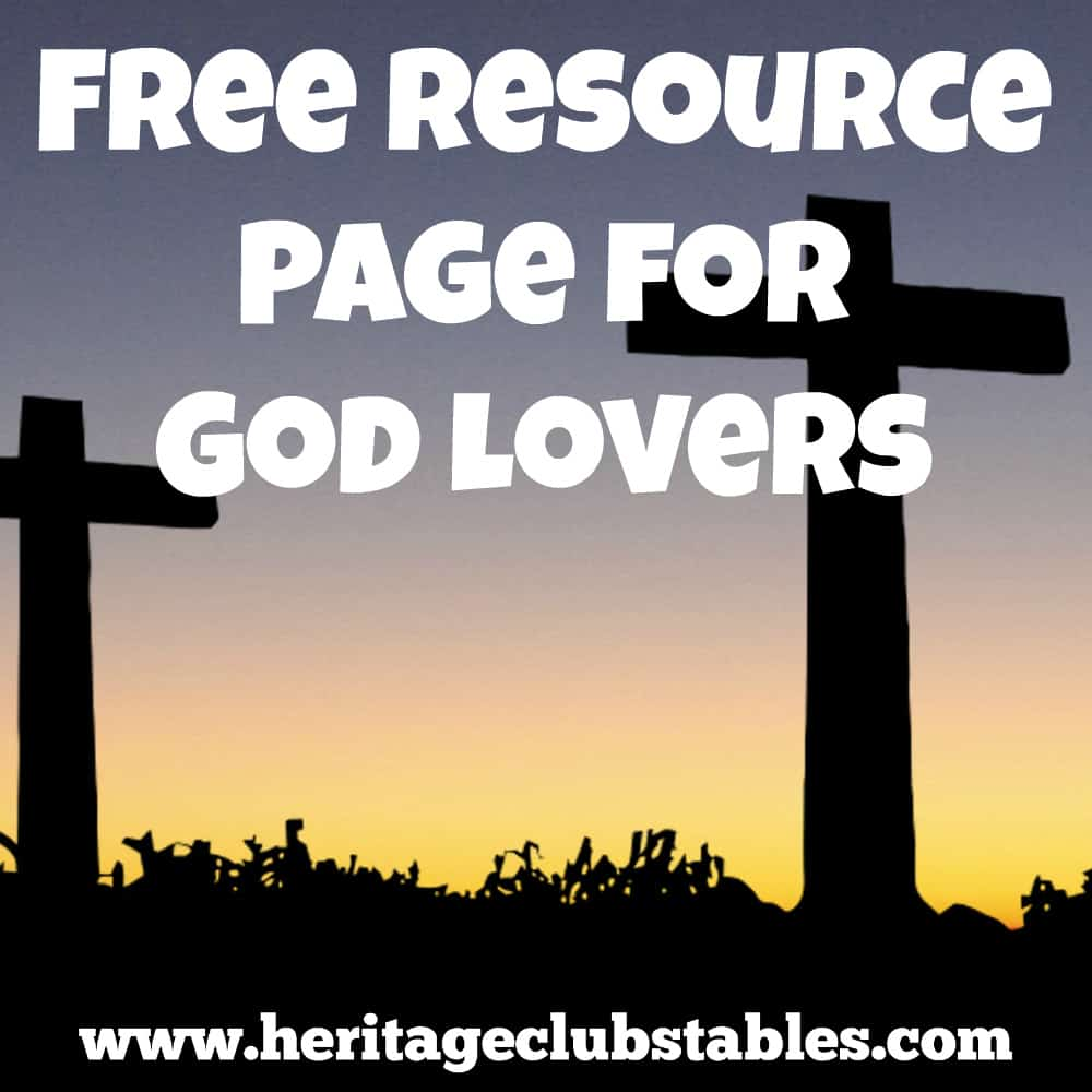 Free Resource Page for God Lovers