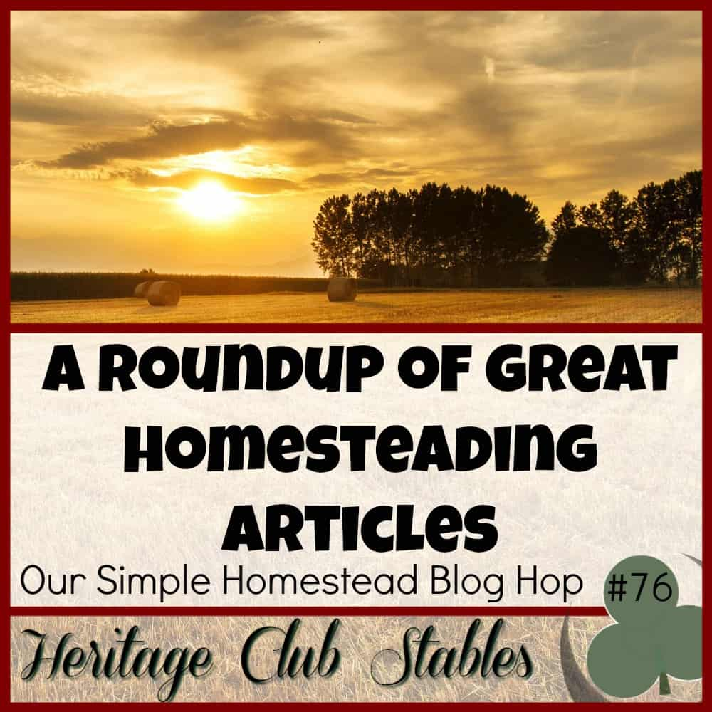 Our Simple Homestead Blog Hop #76