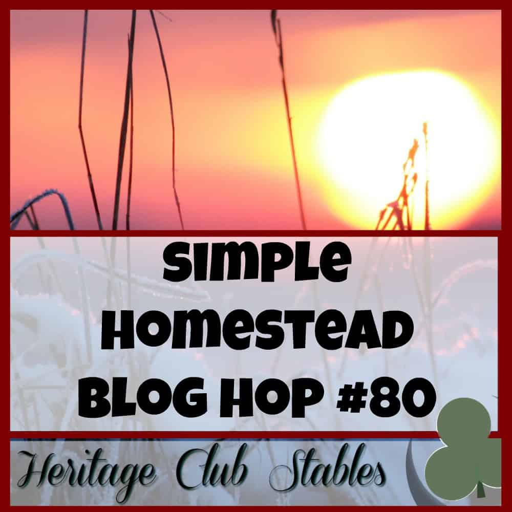 Simple Homestead Blog Hop #80
