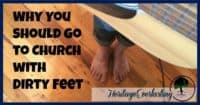 Church   Christian Living   Worship   Going to Church   Why you should go to church   Are you willing to take off your sandals and reveal the dirt beneath? Find out why you should go to church with dirty feet. Bring your dirty feet to church and see how God reveals your destiny.