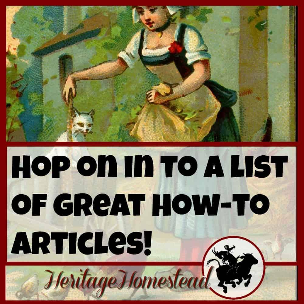 Simple Homestead Blog Hop #85