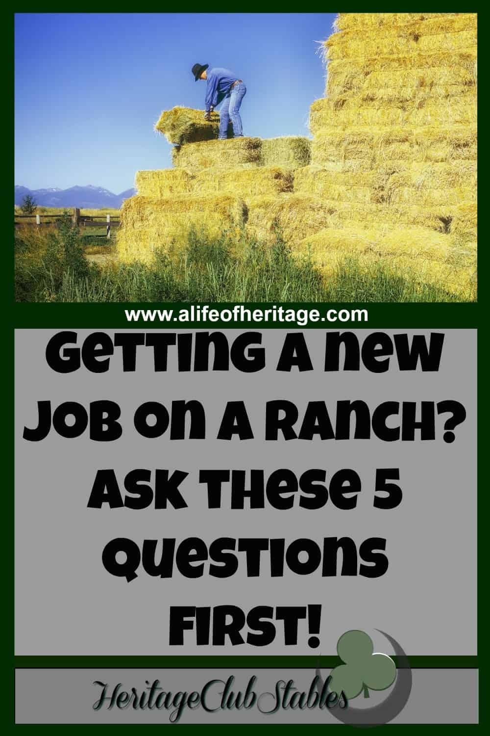 Cowboy Lifestyle | New Ranch Job | Cowboy | Questions For Your Ranch Boss |  5