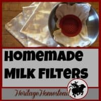 "Milking goats | Homemade milk filters | Goat Care | Homemade milk filters for the ""just in case"". You may run out at an inconvenient moment and would also be ready if there ever were a shortage of filters"