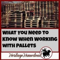 Pallets | Building with Pallets | DIY Pallet Projects | Old Wood | There are at least 5 things you need to think about when you are working with pallets. They are a great tool: when used properly they're even more brilliant!