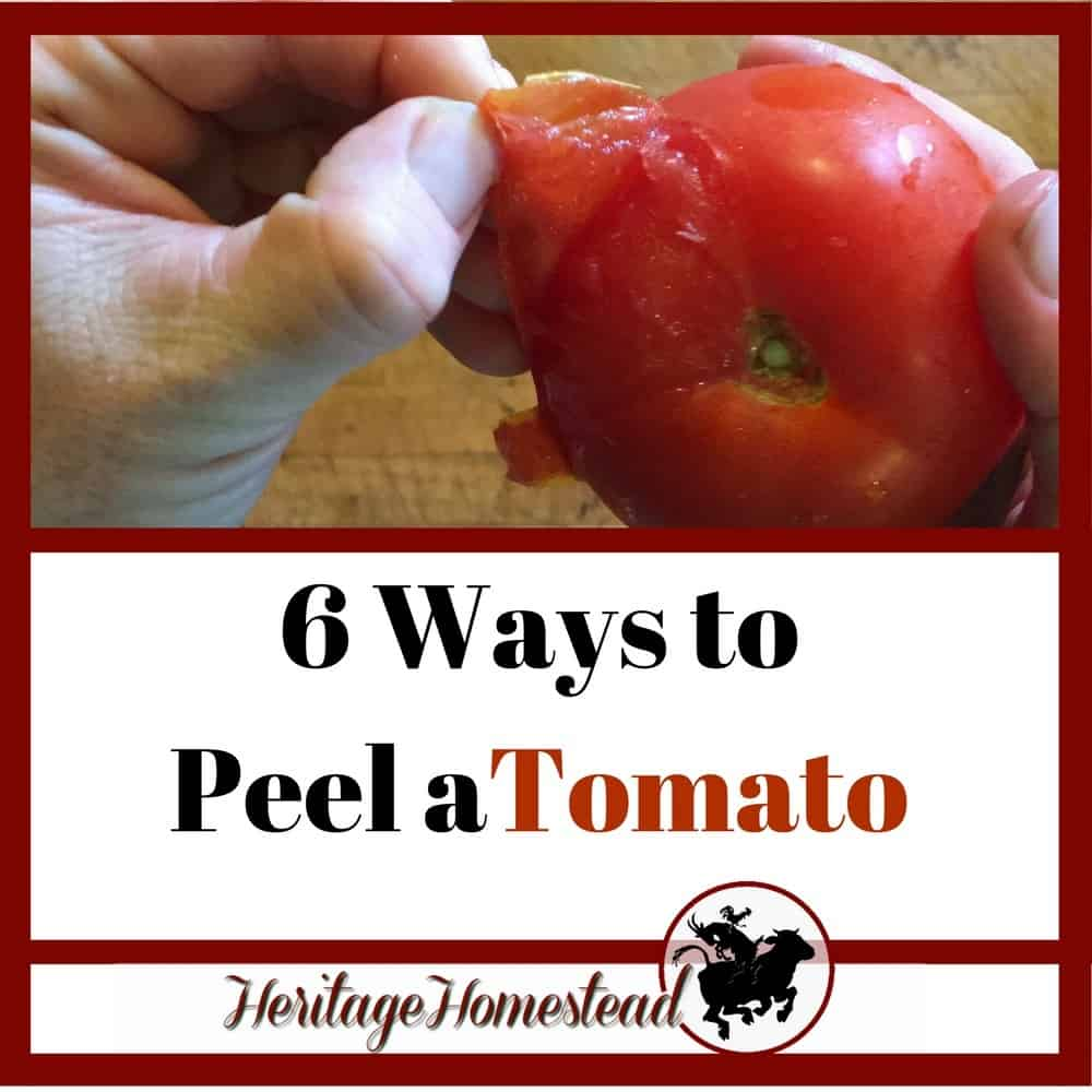 How to Peel Tomatoes [6 Different Ways!]