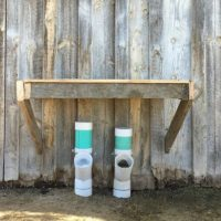 Easy DIY Goat Mineral Feeder