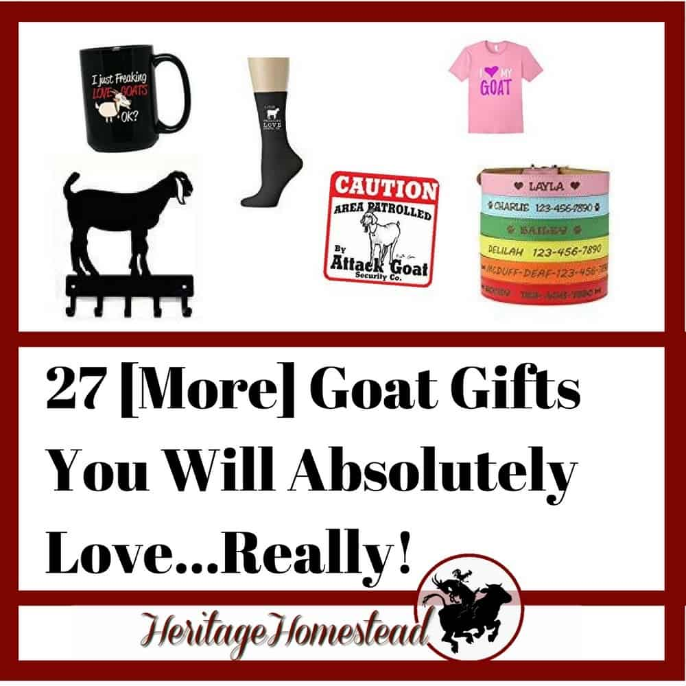goat gifts for any goat lover