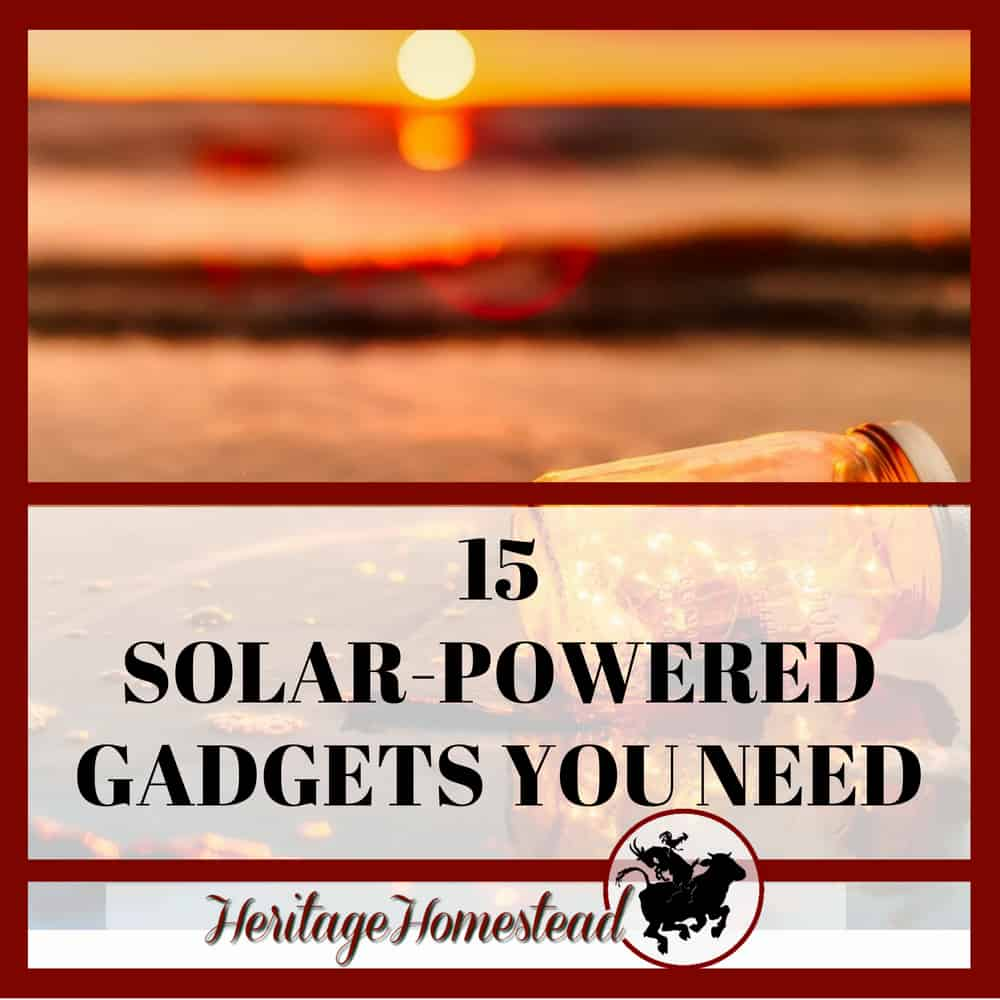 Solar Powered Gadgets that will make your day