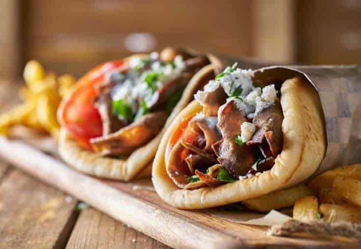 These pulled pork gyros are ones you will want to put on the menu as often as possible! So easy to make and so very good!