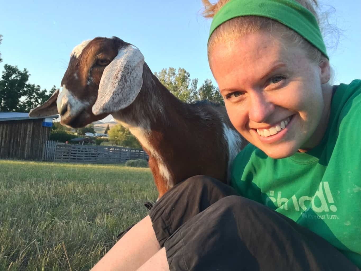 Observe your goats to help keep them happy. This means you need to spend time with them!