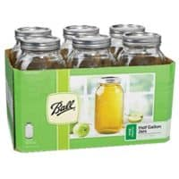 Ball Wide Mouth 1/2 Gal. Glass Jars