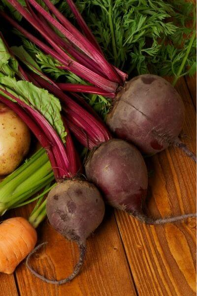 Beets are yummy and grow fast!