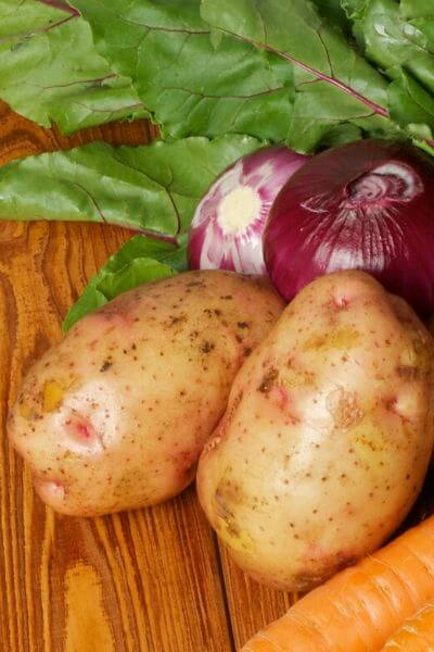 Potatoes are a must in any garden! They produce a great harvest quickly!